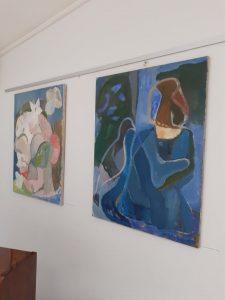 Tapytojos A.Petrašiūnaitės meno kūrinių paroda